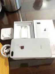 Apple iphone 8 Plus Silver  64gb