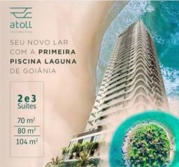 Atoll - Apartamentos compactos Setor Marista- Lançamento