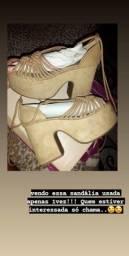 Vendo sandália nova na caixa!!!!