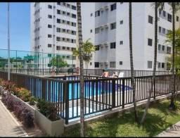 Excelente apartamento em condomínio fechado no Janga
