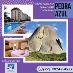 Alugo - Ap em Hotel Pedra Azul
