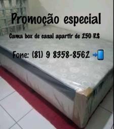 Promoção especial, Box de casal com o preço que cabe no seu bolso.