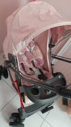 Carrinho de bebê semi novo 12x
