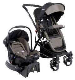 Kit carrinho de Bebê + Bebê conforto + suporte de carro da marca Kiddo