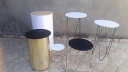 Trio de mesa para festa