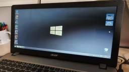 Troco Notebook Acer Core i5 - SSD Nvme  256gb Muito rápido 7ª geração