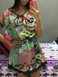 Vestido florado