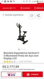 Bicicleta ergométrica V3 movement
