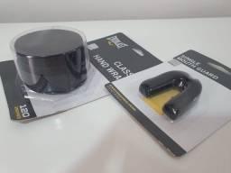 Luva de Boxe Everlast 14 Oz + Bandagem + Protetor Bucal