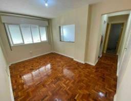 Apartamento à venda com 1 dormitórios em Centro, São vicente cod:156282