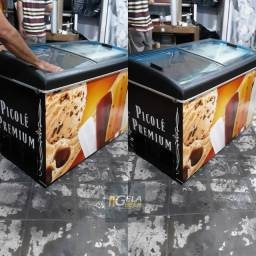 Freezer Horizontal Expositor 410 Litros no Estado