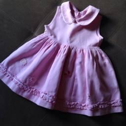 Vestido Bordado Tamanho 2
