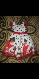 Vestido temático Ladybug