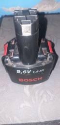 Bateria de parafusadeira Bosch 9,6 V
