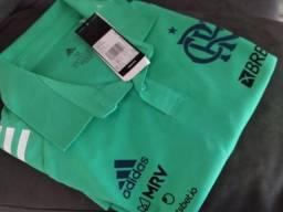 Camisa do Flamengo 2020 Polo Com Patrocínio