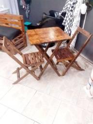 Mesas e cadeiras dobráveis 290