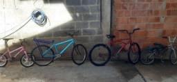 Vendo 4 bicicletas