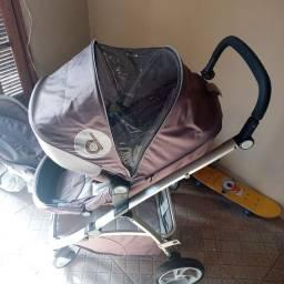 Carrinho + bebê conforto!