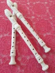 3 Flautas Yamaha Barroca