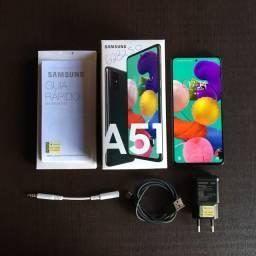 Samsung A51 128gb 4gb Ram Na Caixa Aceito Cartão