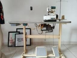 Máquina de Costura Galoneira - Semi Industrial completa +3 Peças p/ enviés
