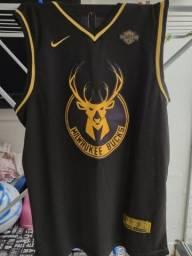 Camisa Milwaukee Bucks Golden Edition- Giannis Antetokounmpo
