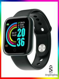 Y68 D20 Smartwatch/Relógio Smart Esportivo com Pedômetro/Monitor