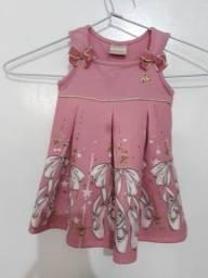 Vestido Milon M ,vestido Malwee G pçs  para bebê  tudo novas