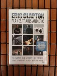 Dvd Eric Clapton - Planes Trains And Eric - Original / Novo / Lacrado