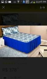 Colcha cama casal padrão