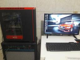 PC GAMER 16Gb RAM, PLACA DE VIDEO + TV MONITOR