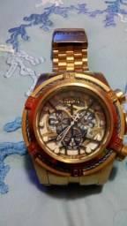 V/t relógio invicta Zeus Dourado