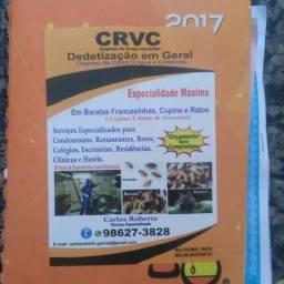 CRVC dedetizaçao