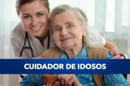 Presto serviço de técnica em enfermagem e CUIDADORA DE IDOSOS