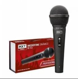 Microfone Dinamico C/fio M-k5 Profissional Metal Cabo 3m Mxt