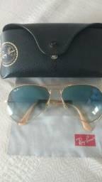 Óculos Rayban Aviator Degradê original