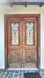 Porta de alto Padrão, Madeira Nobre (Pinho de Riga)