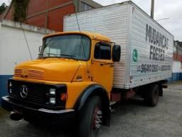 Caminhão Baú ou somente o Baú - Aceito trocas - 1986