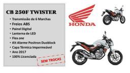 CB 250 Twister + KIT Alarme Positron Duoblock + Capa - 2017
