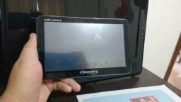 """GPS Automotivo Aquarius Discovery Channel 7.0"""" com TV Digital"""