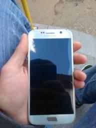 Galaxy s6 Dourado 32 gb . muito novo