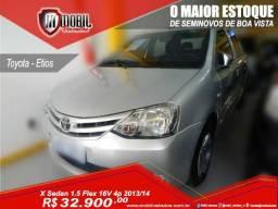 Toyota Etios X Sedan 1.5 Flex 16V 4p Mec. - 2014