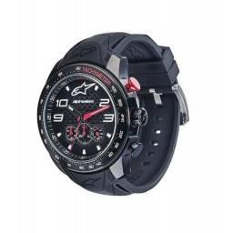 7a2c8d481c9 Relógio Alpinestars Tech Chrono Preto - Pulseira de Silicone Preto  (Adventure Motowear)