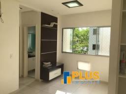 Lindo Apart no Total Ville Harmonia/ 2 dormitórios/ semi mobilado