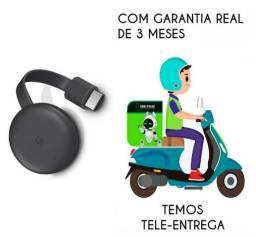 Chromecast 3 Novo Lacrado Com Nota Fiscal - Compra Segura!