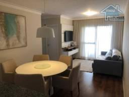 Apartamento com 3 dormitórios à venda, 77 m² por r$ 376.900 - parque industrial - são josé