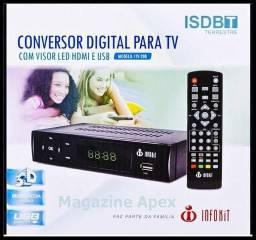 Conversor Digital infokit itv200 novo