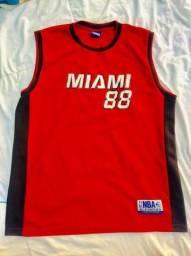 Camisa usada NBA MIAMI