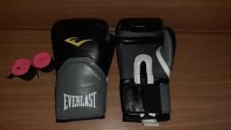 Luva de boxe + Protetor bucal + Bandagem
