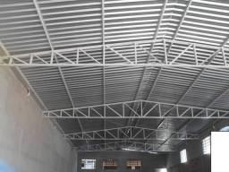 Serviço de estrutura metálica telhado galvanizado